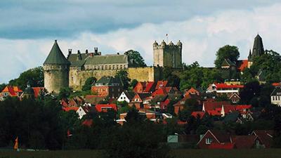 Schloss Bad Bentheim - Minicamping de Dinkelweide